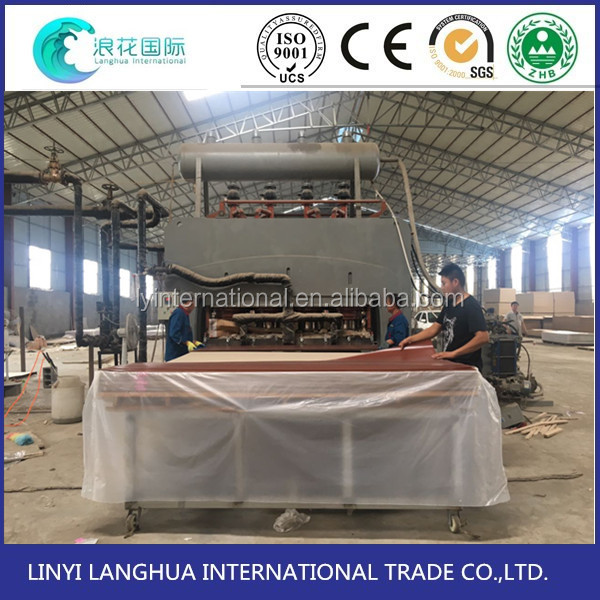 woodwoking strong linyi hot press machine