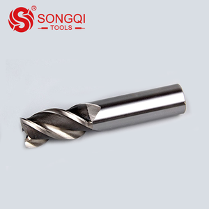 Factory price HSS M2 4F endmill for aluminum carbon steel