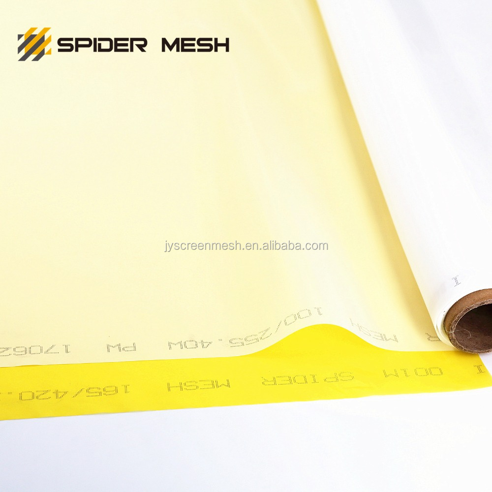 High quality 100 / 250 - 40 polyester silk screen printing mesh