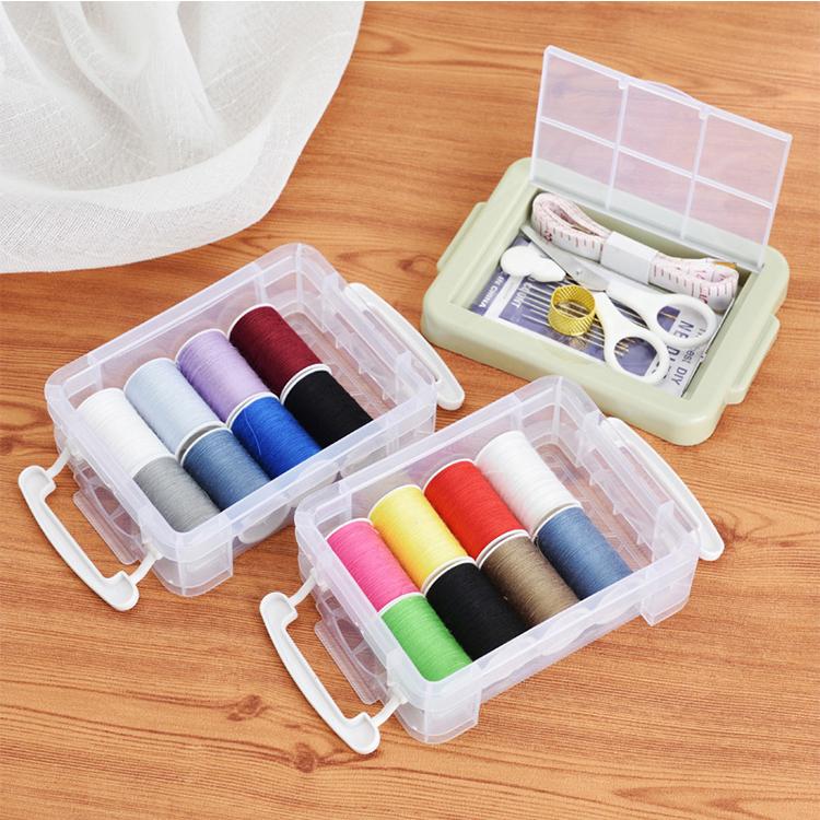 Convenient Compact  PP Mini Travel Sewing Kit Set