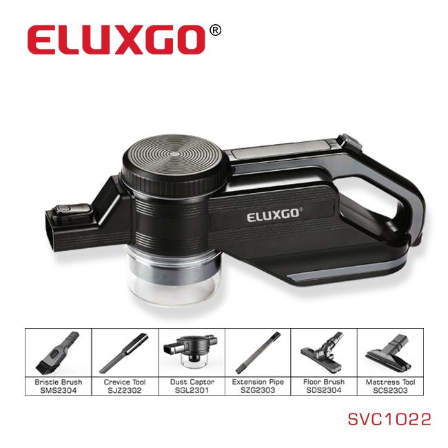 ELUXGO Modern Design Portable Stick Vacuum Cleaner Bagless for Carpet/Curtain/Bed
