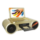 Konsta HIiFi Speaker Mini Karaoke Player Home Dvd