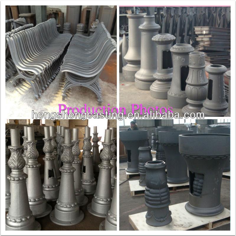 Cast Aluminum Decorative Post Base Cast Aluminum Street