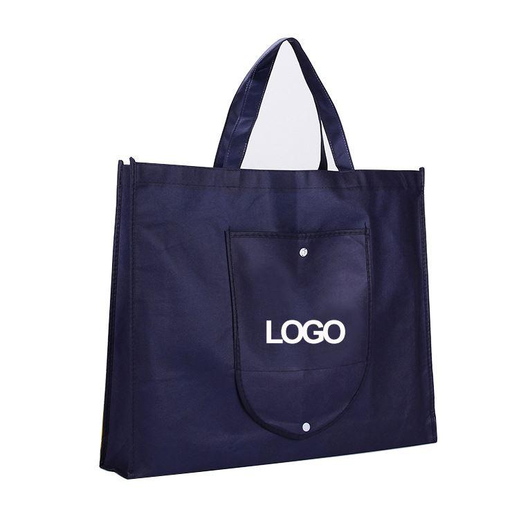 Printing acceptable non woven foldable shopping bag