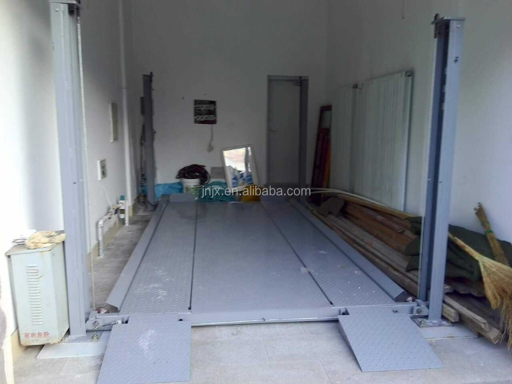 Hydraulic Electric Four Post Car Parking Lift For Home