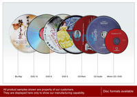 CD and DVD Replication (Bulk Pack with Shrinkwrap)