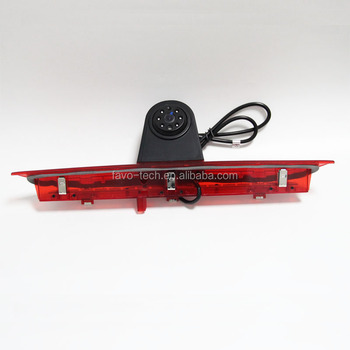 DC12V 160 Degree CCD Backup Rear View 3rd Brake Light Camera For Ford Transit Van
