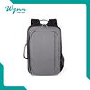 Chinese products solar leather laptop bag