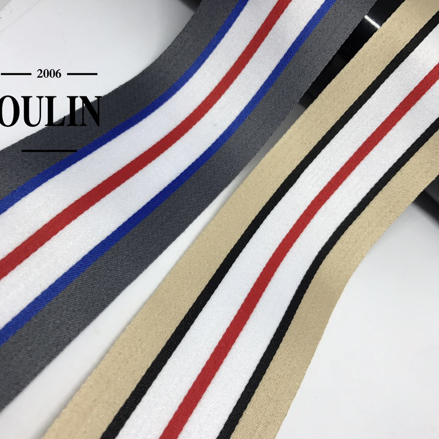 Oulin factory wholesale hot selling product 2019 new arrived elastic tape for garment