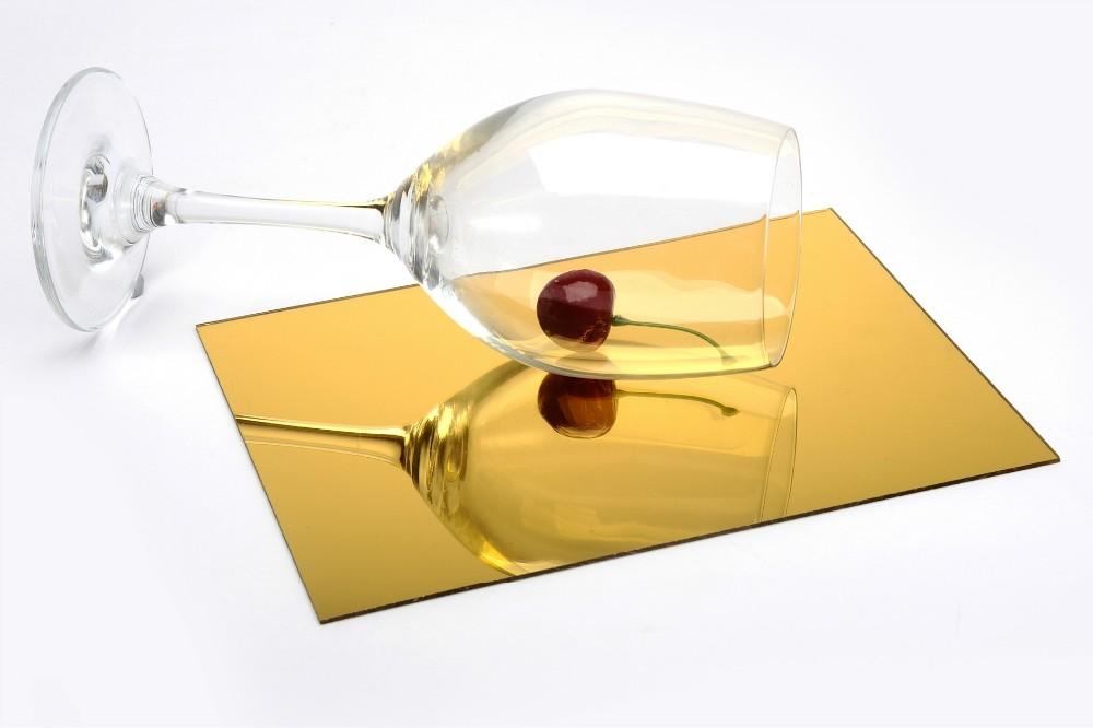 Gold Color Flexible Acrylic Mirror Sheet Buy Gold Color