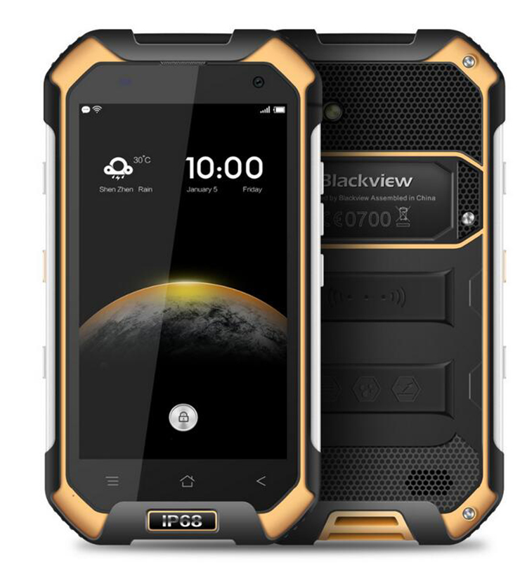 "Original 4.7"" Blackview BV6000S IP68 Waterproof Mobile Phone MTK6735 Quad Core Android 6.0 2GB 16GB Camera 8.0MP bv6000s"