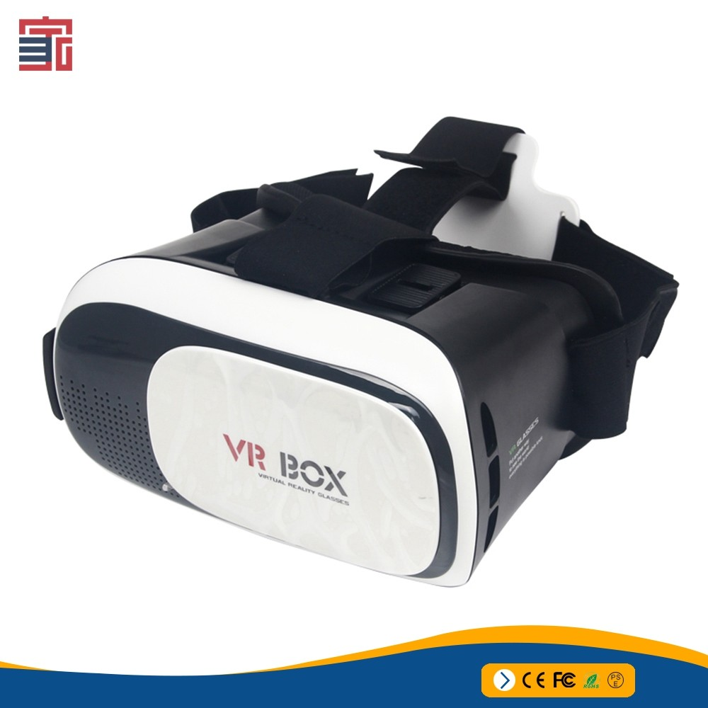 Virtual Reality Headset video 2nd version generation 3d glasses google cardboard 3d vr box 2.0