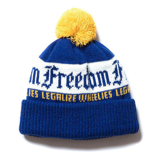 Wholesale Fashion Animal Warm Kids Free Knitted Pom Beanie Puffball Women's Custom Winter Hat