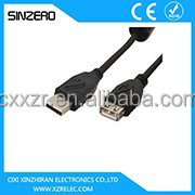 female usb to rca cable/100m extension cable/high speed metal usb 3.0