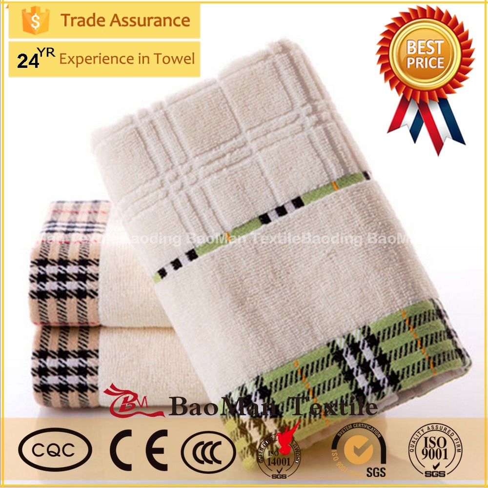 Manufacturers selling cotton satin jacquard satin towel washcloth super absorbent thickened gift for special offer