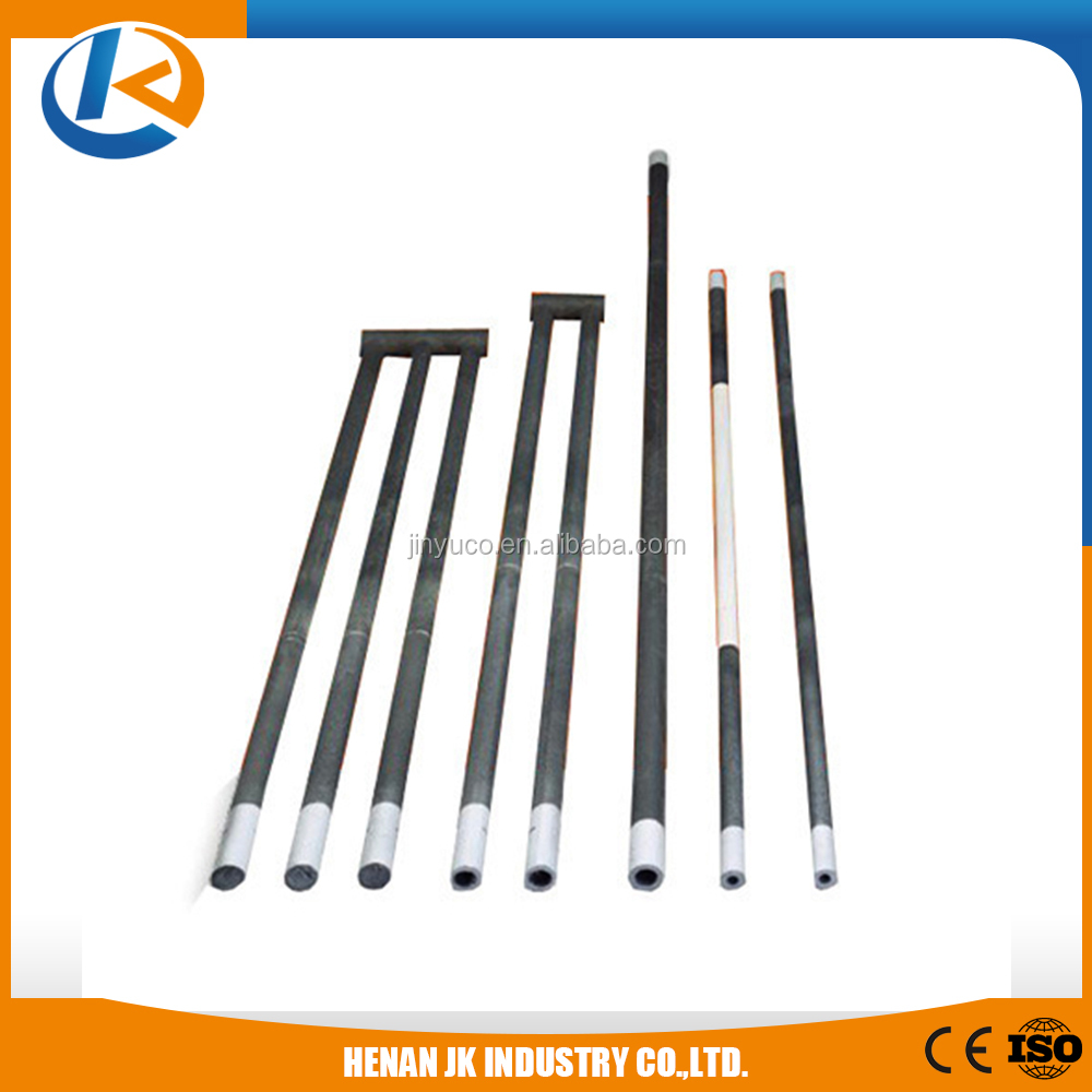 high temperature single spiral sic heater for electric furnace