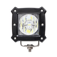 4 inch 27w led fog light work lamp, spot flood with drl for off road truck marine boat led driving light for cars