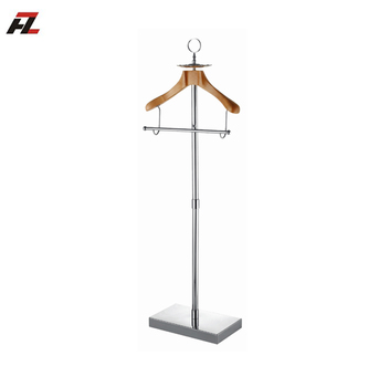Stainless Steel Commercial Metal Coat Racks Valet For Hotels Or Simple Commercial Coat Racks
