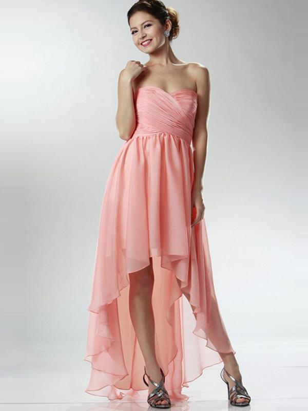 Strapless Girls Evening Dresses Evening Gown Big Size Women Dress ...