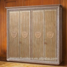 Made in china di legno antico royal <span class=keywords><strong>mobili</strong></span> armadio con 4 porte o 6 porte
