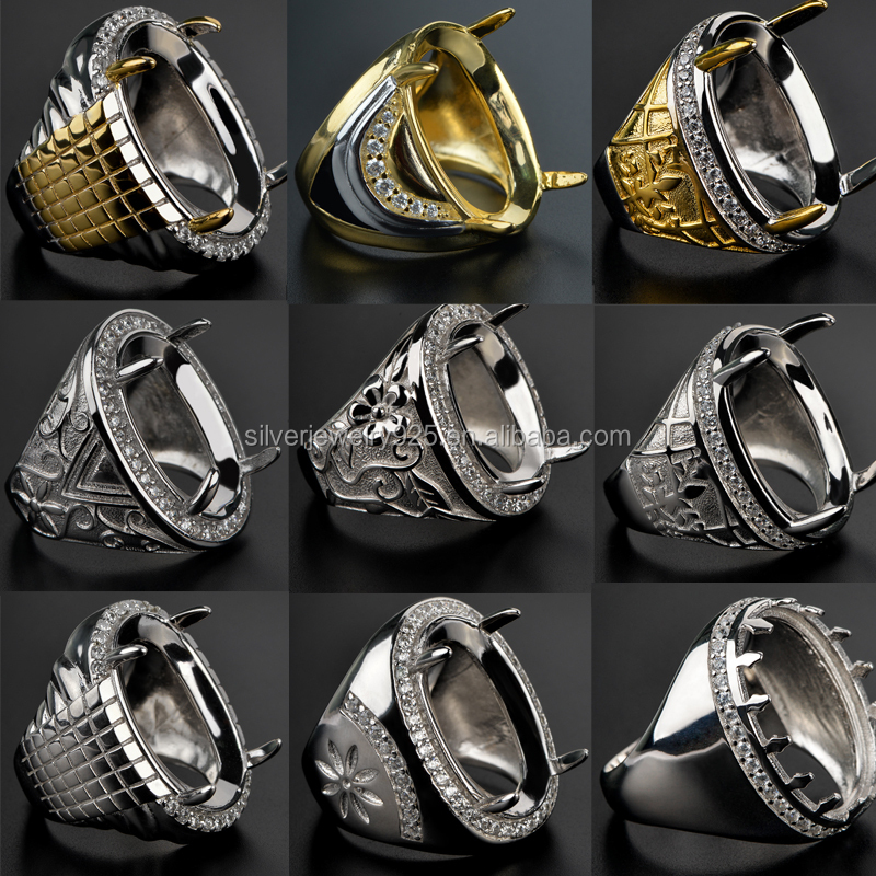 China Alibaba Wholesale Fashion Ring For Men Without Stone - Buy ...