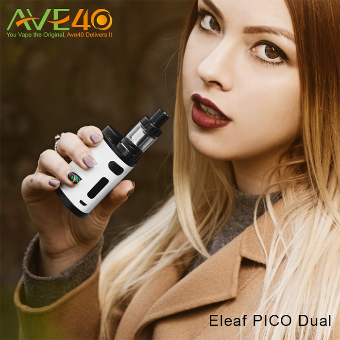 2017 Newest and Hottest eleaf Pico Dual kit from AVE40