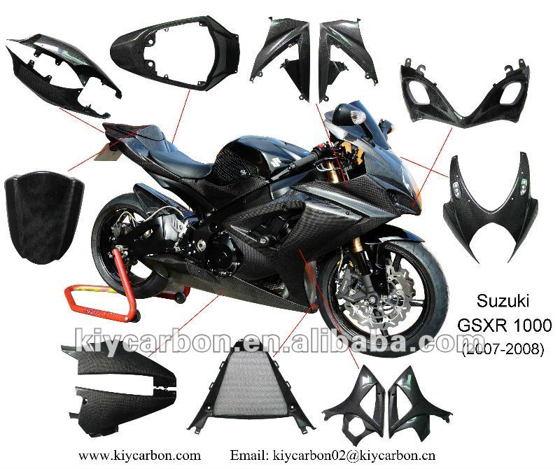 High Quality Carbon Fiber Gsxr 1000rr Bike Parts - Buy Carbon Gsxr  1000,Carbon Fiber Motorcycle Parts,Carbon Fiber Parts For Suzuki Product on