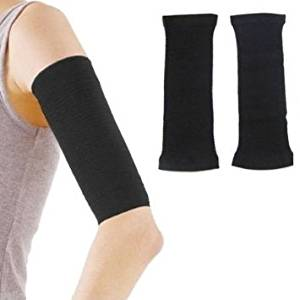 Yosoo 1 Pair Fashion Fat Burning Slimming Weight Off Arm Shaper Arm Slimmer Shapers Calorie Cellulite Fat Buster Wrap for Women Lady Girls