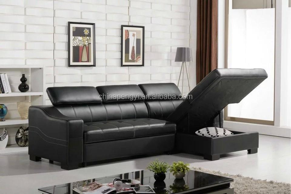 Modern Living Room Furniture Divan Bed Design Sofa Cum