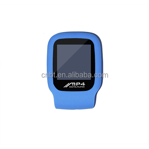 Android watch Shaped Mini MP4 Player withPedometer and Clock function