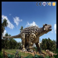 DW-0995 Animatronic Robot Jurassic Amusement Park Giant T-Rex Dinosaur Statue and Playground Dinosaur Model