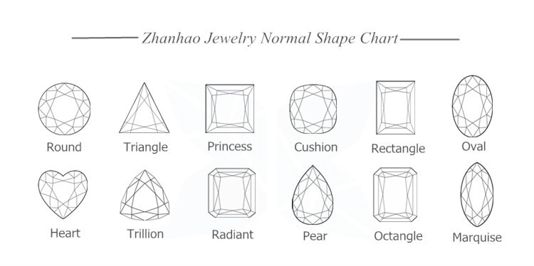 Made In China Grade Aaa Diamond Cut Star Cut White Round Shape ...