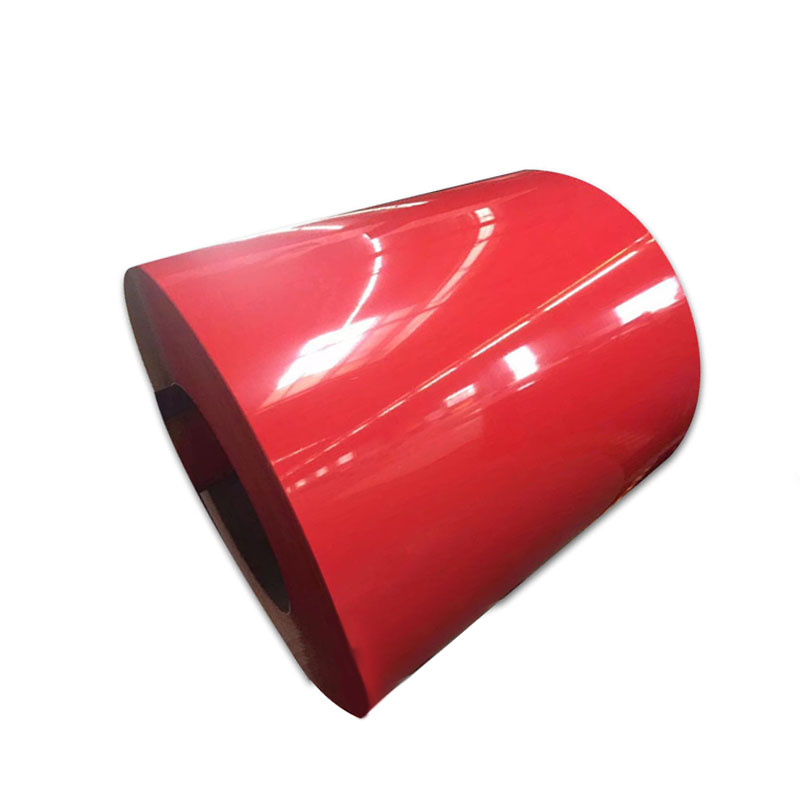 High Quality Colorful Prepainted Galvanized Coil Hot Dipped Color Coated Coil PPGI Prepainted Galvanized <strong>Steel</strong>