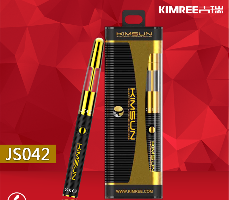 Kimree Smallest Rechargeable Cigarette Dry Herb Vaporizer Pen with Wholesale Price JS043 Kit Factory in China