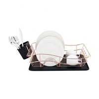 Brand new home copper dish drying dish rack