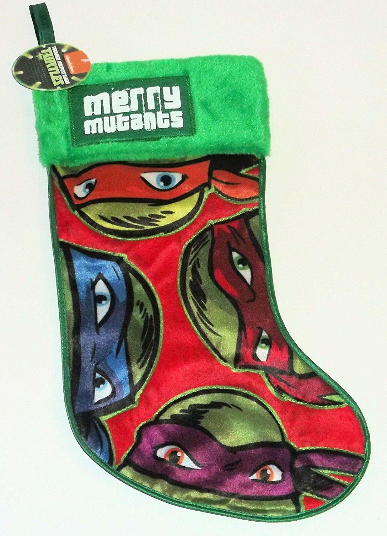 Buy Teenage Mutant Ninja Turtles Christmas Stocking 19\