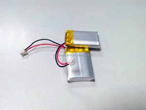 Ultra Thin 3.7v 70mah Li-polymer Battery / 3 * 12 * 30mm 70mah Li-polymer Prismatic 3.7v
