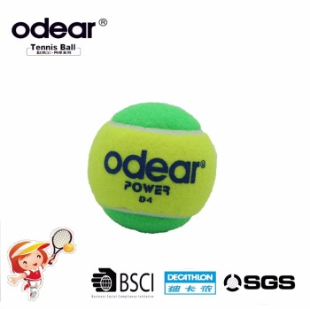 Bulk cheap custom printed kids tennis ball