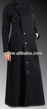 Front open Abaya in organic, regular cotton or UV resistant bamboo