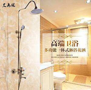 FAYM-European antique copper zirconium gold and the shower showers shower