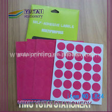 Kinds unique waterproof price tag in yiwu