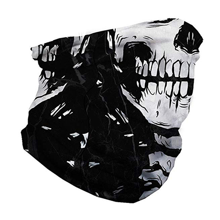 Custom Cycling Tubular Seamless Multifunctional Skull Bandana