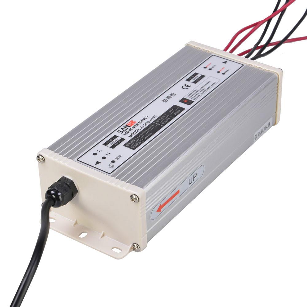 Buy 5V Led Driver 200w 40A Rainproof IP65 220V AC to DC 5V SMPS ...