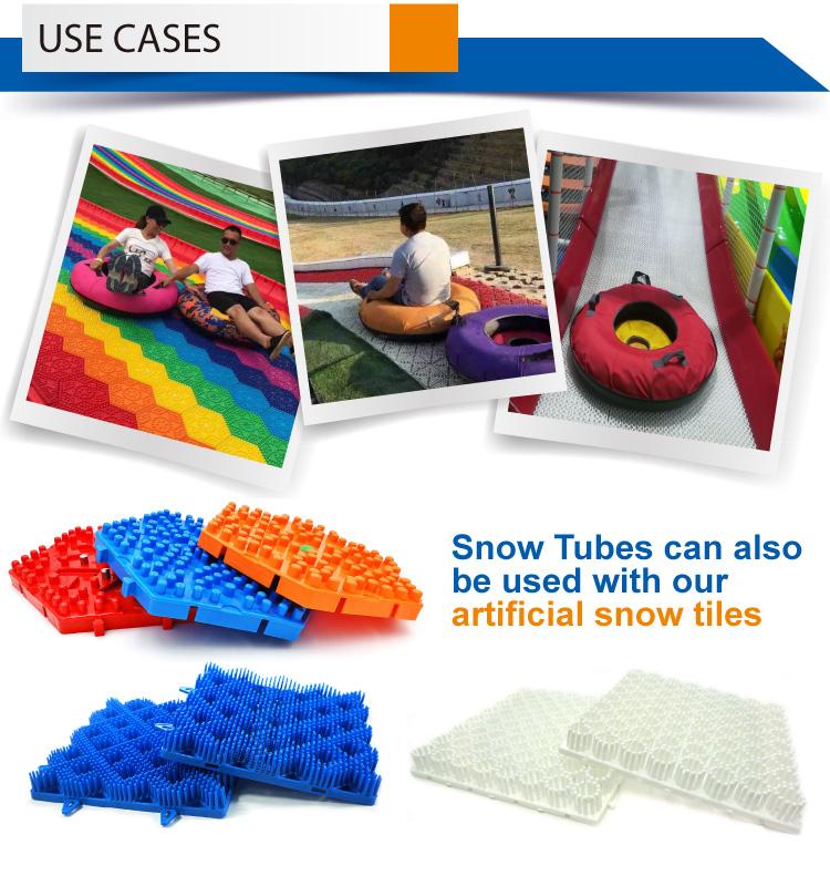 Heavy Laden Sneeuw Buis voor Tubby Slide