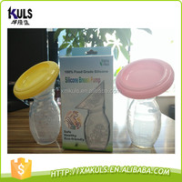 AMAZON hot sale Silicone breast pump for mom feeding use baby products bottle