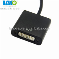 Displayport video adapter dp to dvi male to female connects cable converter