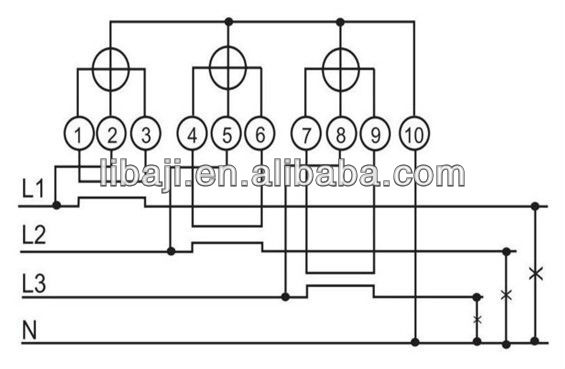 For Three Phase Electrical Meter Wiring Diagram - Wiring