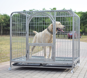 Electric Welding Fold Large Iron Mesh Metal Dog Cages