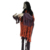 5 feet Halloween Prop Life Size Hanging Skeleton House Decoration Halloween Skeleton-Orange