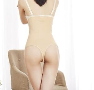 ae858508ab7 Plus Size Women High Waist Butt Lifter Body Shaper Sexy Thong Pants Waist  Trainer Tummy Hip